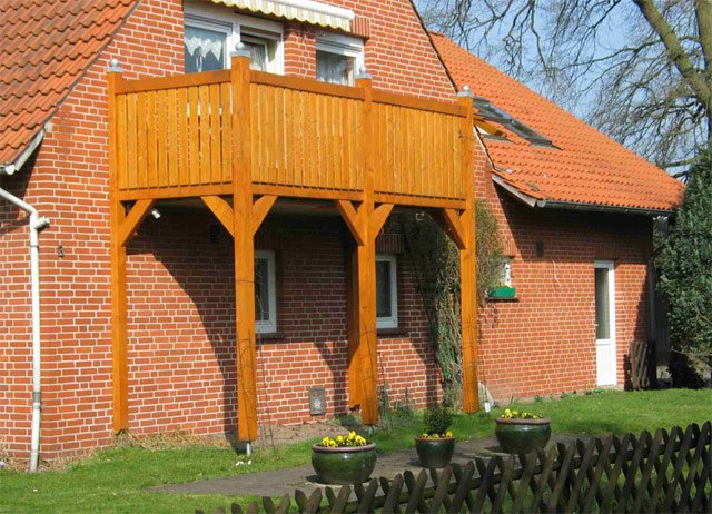 Balkone Fuhrberger Fachwerkhaus